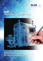 Selective Laser Melting Maschine SLM®280 2.0
