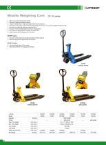i-Lift/Hu-Lift Mobile Weighing Cart ZF/ZFP/XL