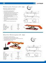 i-Lift/Hu-Lift Motorcyle Lift Table TC/TE