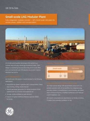 Small-Scale LNG Liquefaction Plant