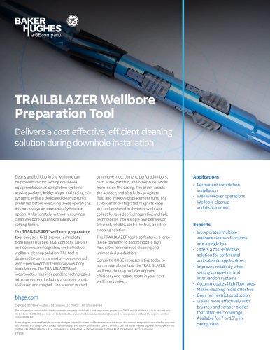 TRAILBLAZER Wellbore Preparation Tool