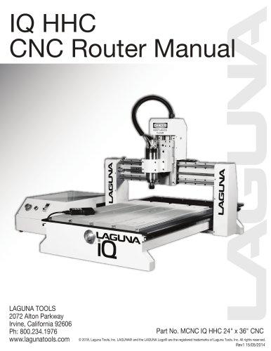 IQ HHC CNC Router Manual