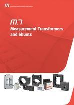 MEASUREMENT TRANSFORMERS AND SHUNTS