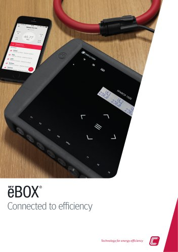 MYeBOX Connected to efficiency