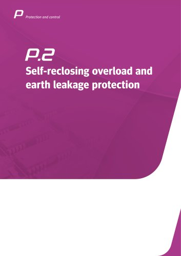 Self-reclosing overcurrent and earth leakage protection