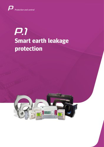 Smart earth leakage protection