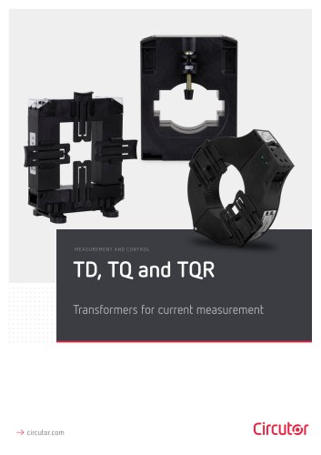 Transformers for current measurement