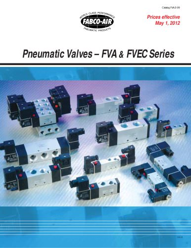 FVA and FVEC Series Control Valves