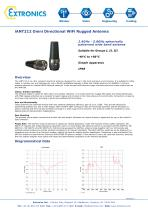 Spherically Patterned Rugged Antenna iANT212 - Compact WiFi
