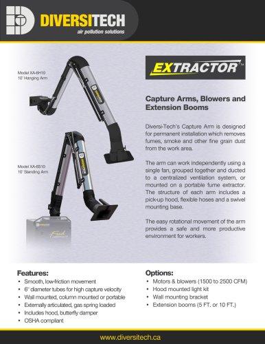 Extractor Arm Brochure