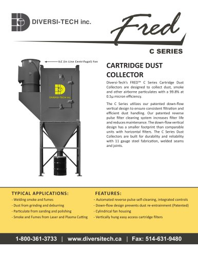 Fred C Series Dust Collector