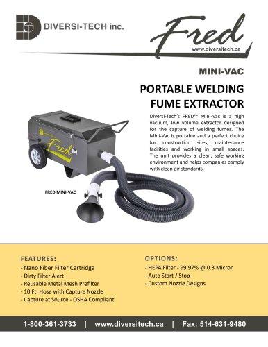 Fred Mini-Vac Fume Extractor Brochure