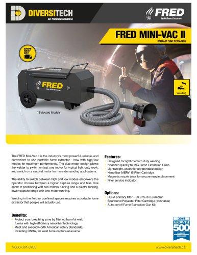 Fred Mini-Vac IIFred Mini-Vac II Fume Extractor