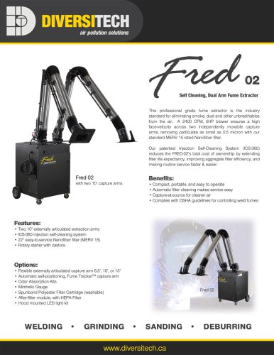 Fred SR2 Dual Arm Extractor