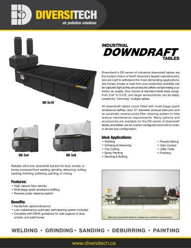 Industrial Downdraft Tables