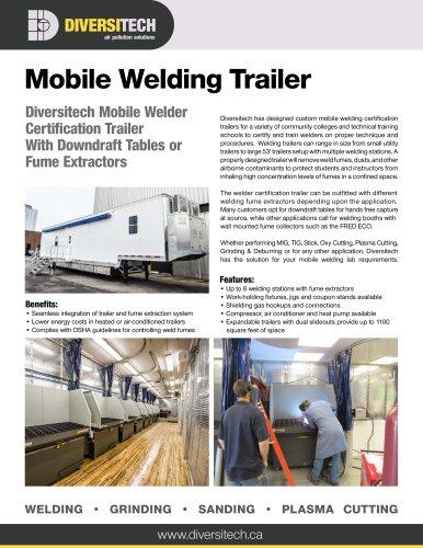 Mobile Welding Trailer