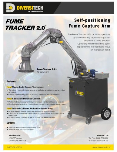 Self- positioning Fume Capture Arm