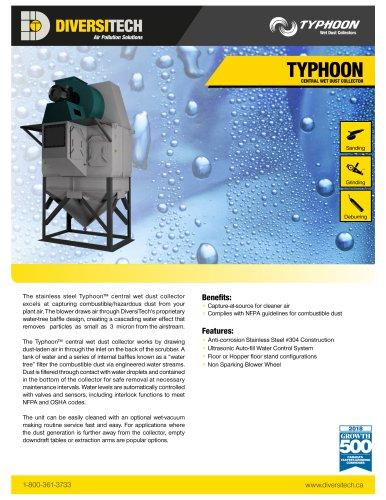 Typhoon Wet Dust Collector