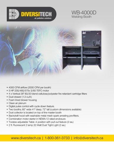 WB-4000D Welding Booth Brochure