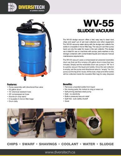 WV-55 Sludge Vacuum