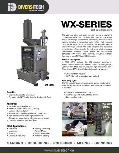 WX-Series Wet Dust Collector