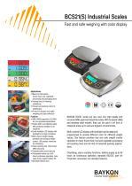 Baykon BCS21(S) Industrial Scales