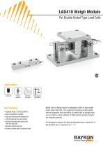 Baykon LAD410 Weigh Module For Double Ended Type Load Cells