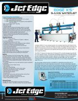 EDGE X-5? 5-AXIS WATERJET SYSTEM