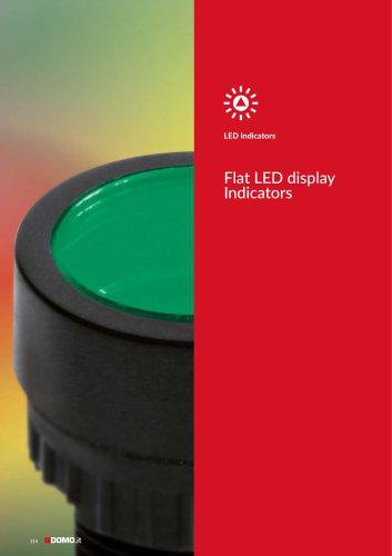 Flat LED Indicators