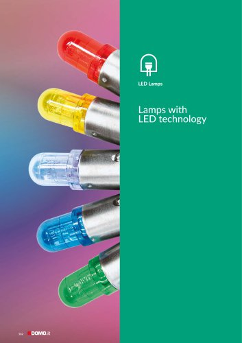 Lamps with  LED technology
