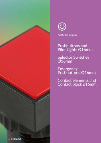 Pushbutton Switches diam.16