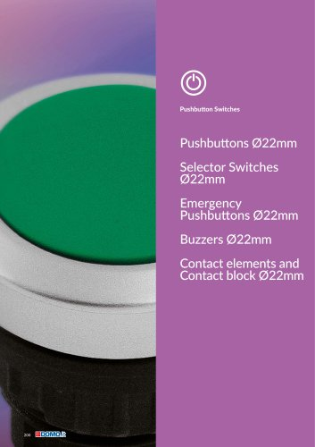Pushbutton Switches diam.22