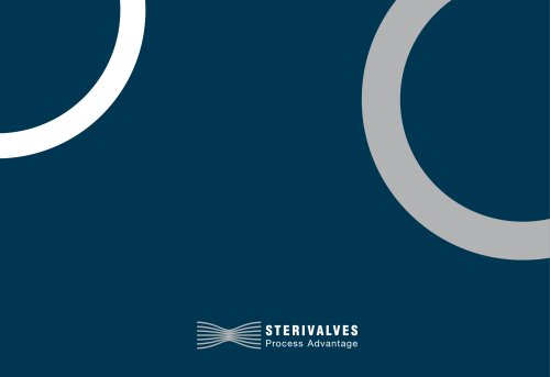 For our catalogues visit www.sterivalves.eu