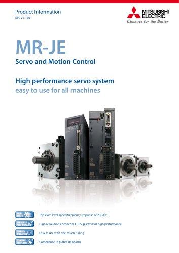 AC-Servo-amplifier - MELSERVO-JE-series