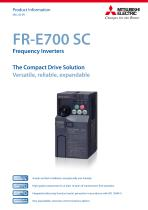 Frequency inverter - FR-E700