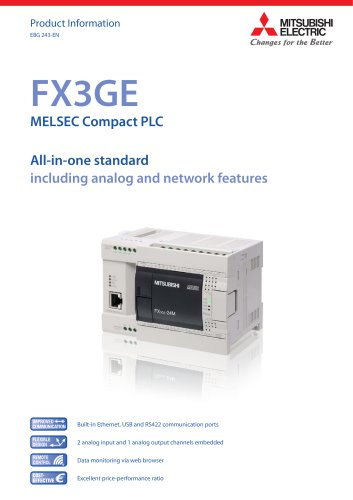 Programmable Controllers - MELSEC F series