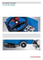 SCRUBBER DRYERS. 10 TO 150 LITRES