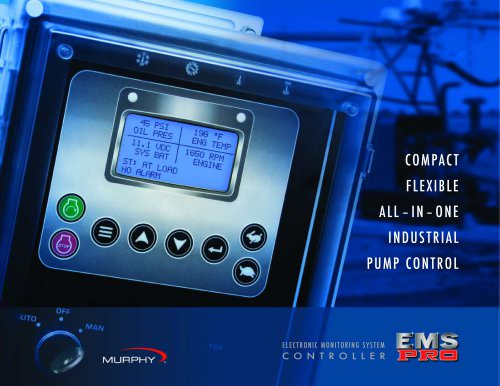 COMPACT FLEXIBLE ALL ? IN ? ONE INDUSTRIAL PUMP CONTROL