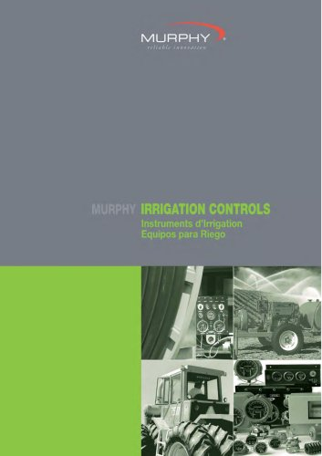 Industrial Stationary: irrigation controls catalogue