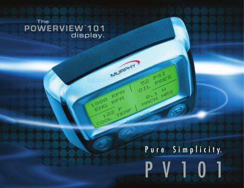 POWERVIEWTM101 display