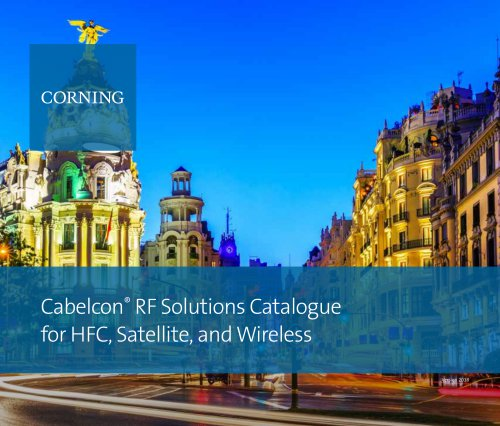 Cabelcon® RF Solutions Catalogue