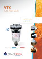 VTX Fuel pre-filters