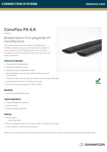 CanuFlex PA 6.6