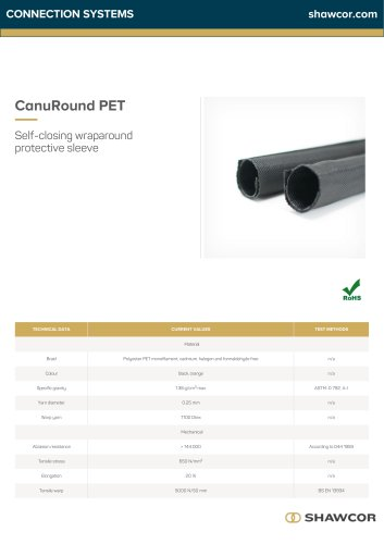 CanuRound PET