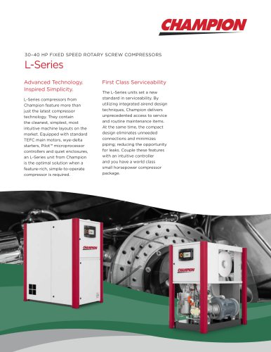 L-Series L23-L29 30-40 HP Fixed Speed