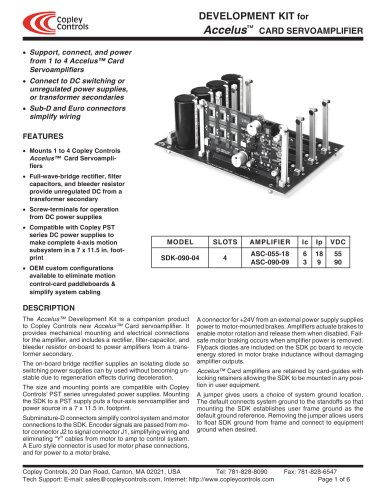 Accelus Card Development Kit