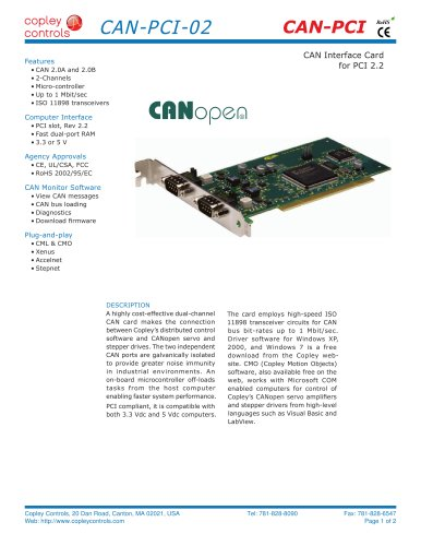 CAN-PCI-02