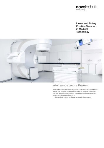 Linear and rotary Position Sensors in Medical Technology