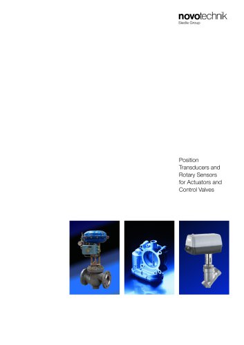 Position Transducers and Rotary Sensors for Actuators and Control Valves