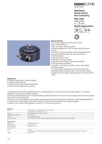 RSX-7900 Heavy Duty